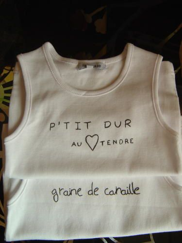Tee-shirts customisés