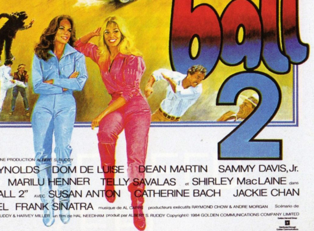 cannonball run 2 poster catherine bach