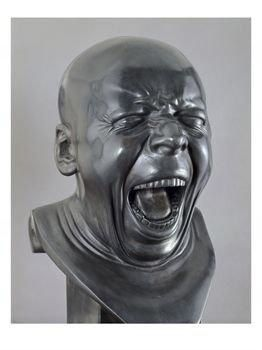 a head by Messerschmidt