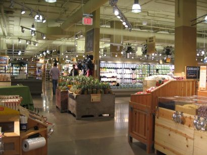inside Whole Foods Market in Vancouver