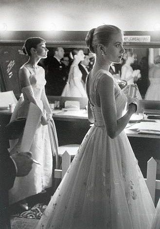 Grace Kelly Audrey Hepburn Academy Awards 1956