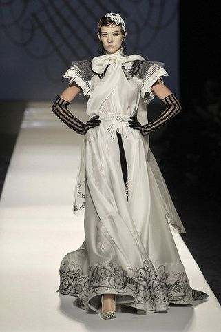 summer 2009 Jean-Paul Gaultier couture dress