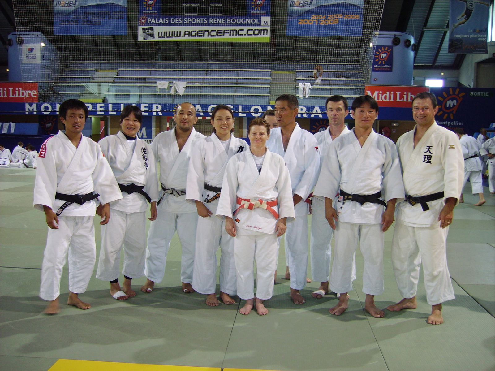 stage montpellier 2009 sp cial japonais judo club thouarsais. Black Bedroom Furniture Sets. Home Design Ideas