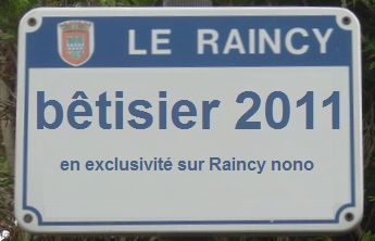 bêtisier du Raincy en 2011