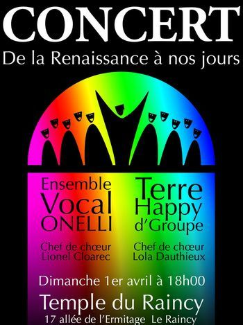 concert Onelli - Terre Happy d'Groupe