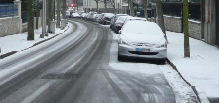 neige au Raincy