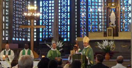 messe d'installation de Frédéric Benoist curé du Raincy