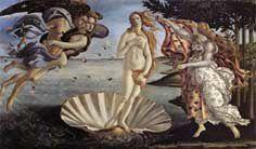 Botticelli Sandro - La naissance de Vénus