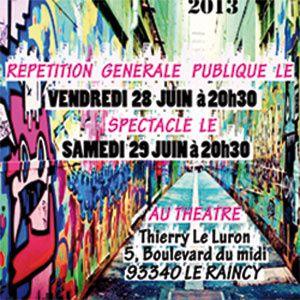 gala extravadanse 2013 au Raincy