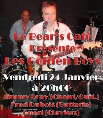 Les Golden Boys au Bear's Café au Raincy