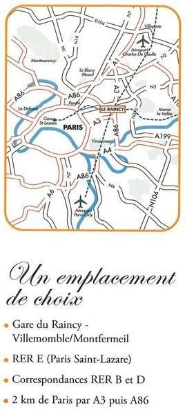 Le Raincy plan