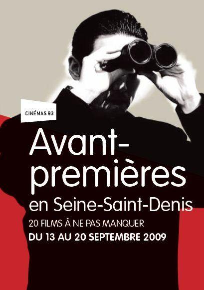 Affiche : avant-premières en Seine-Saint-Denis, 20 films à ne pas manqur du 13 au 20 septembre 2009