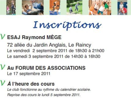 Gym'V association au Raincy