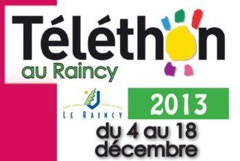 Téléthon 2013 au Raincy