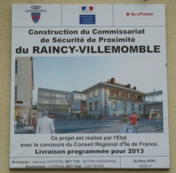 commissariat Le Raincy Villemomble