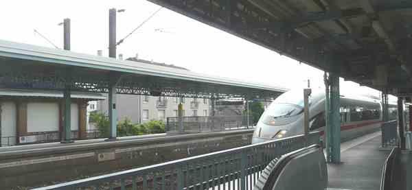 Raincy-Nono ICE3 en gare du Raincy