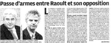 Le Parisien article du 2 novembre 2011