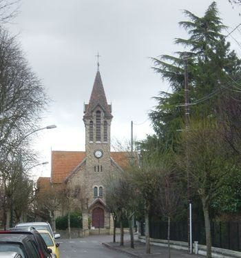 Raincy-Nono, photo du Temple protestant