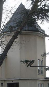 Panorama des tours, tourelles, flèches, clochers, clochetons et autres échauguettes du Raincy.