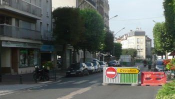 Le Raincy travaux d'assainissement