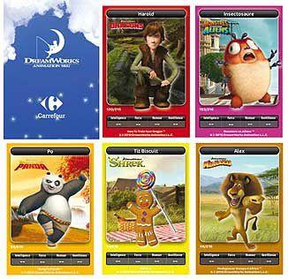 Carte Carrefour Dreamworks.Carrefour Et Dreamworks Le Blog Quixotte