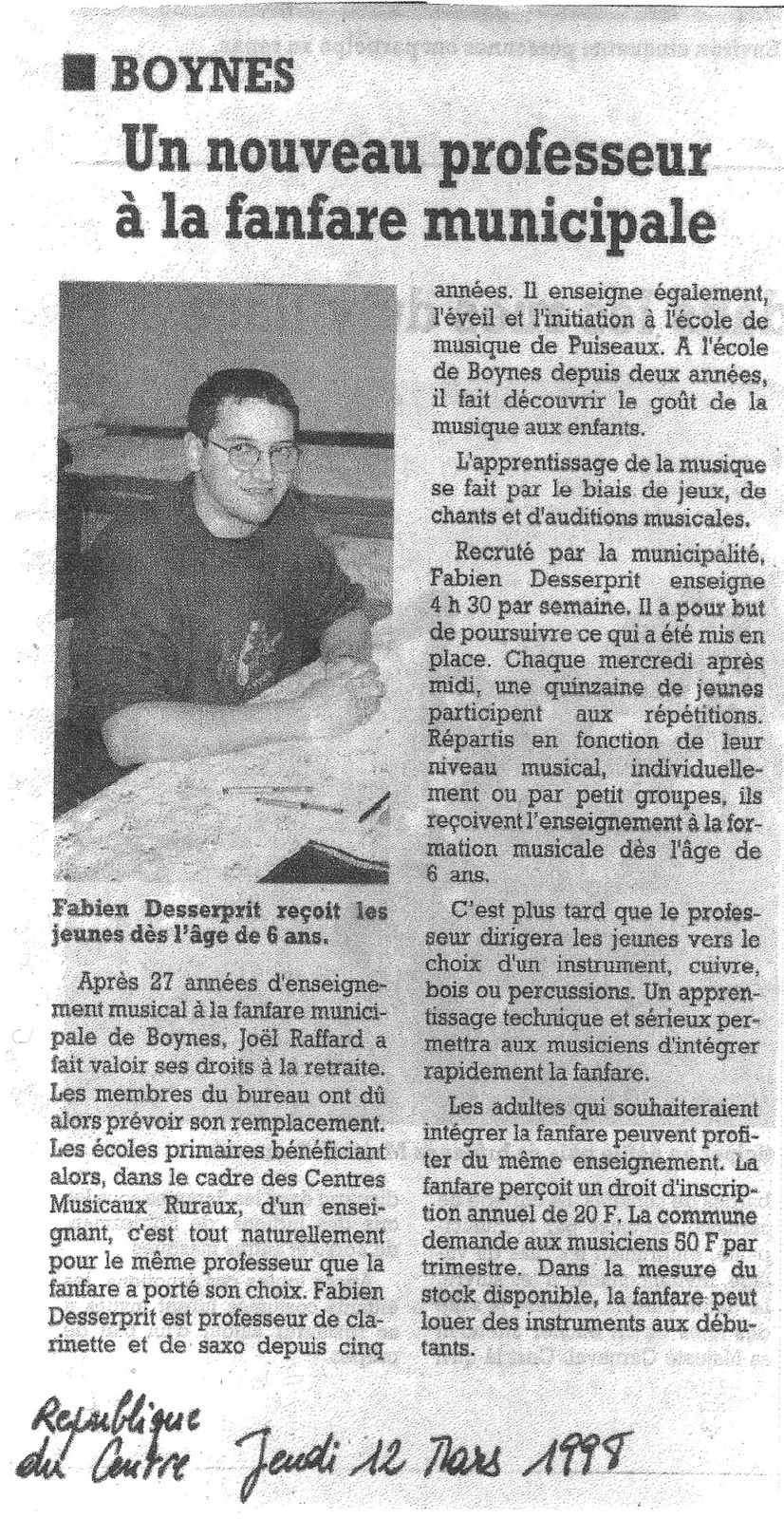 Article Fab 1998