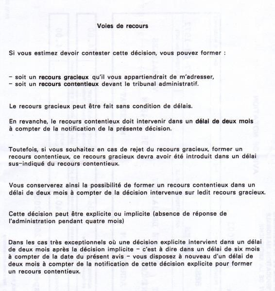 exemple de note administrative