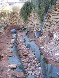 chantier pierre seche drainage n4