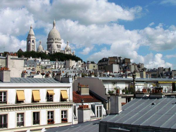 TOITS PARIS SACRE COEUR