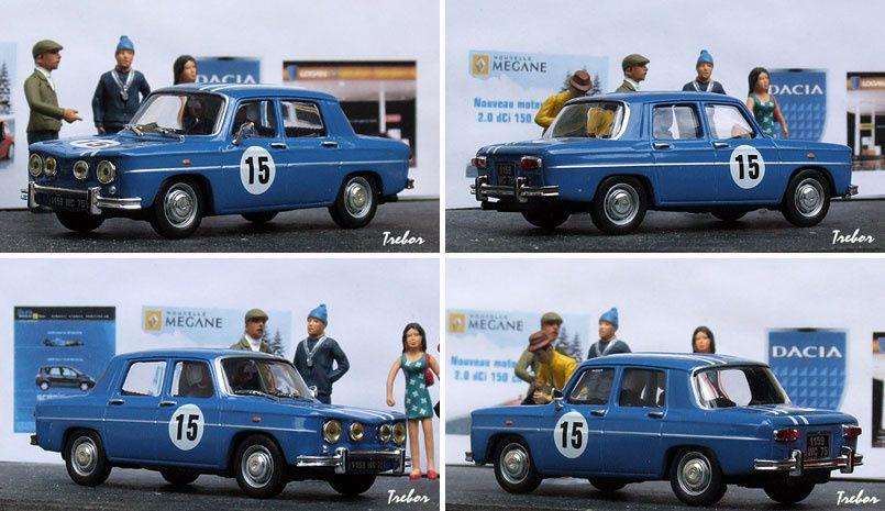 GR4012 R8 Gordini bleue