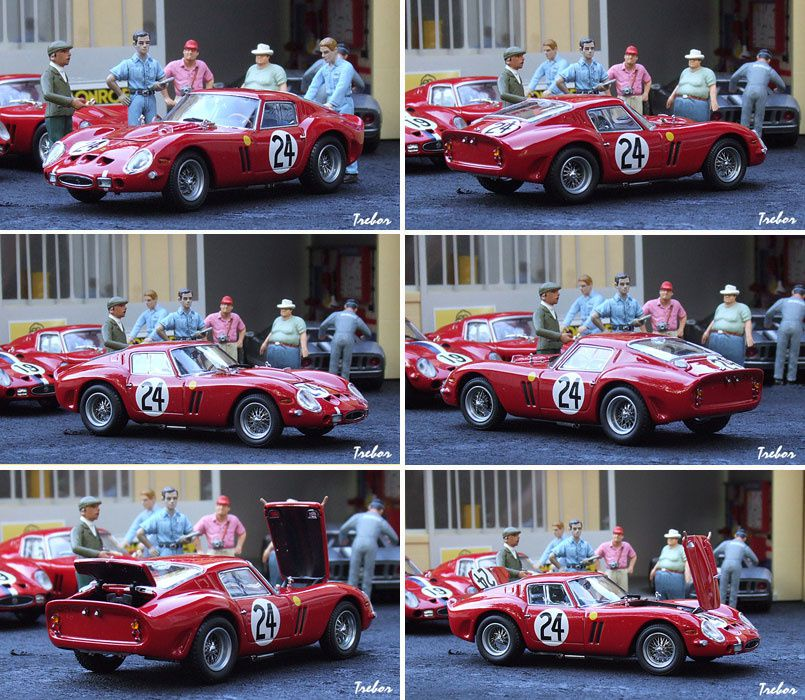 4350GR 250GTO LM1963 rouge