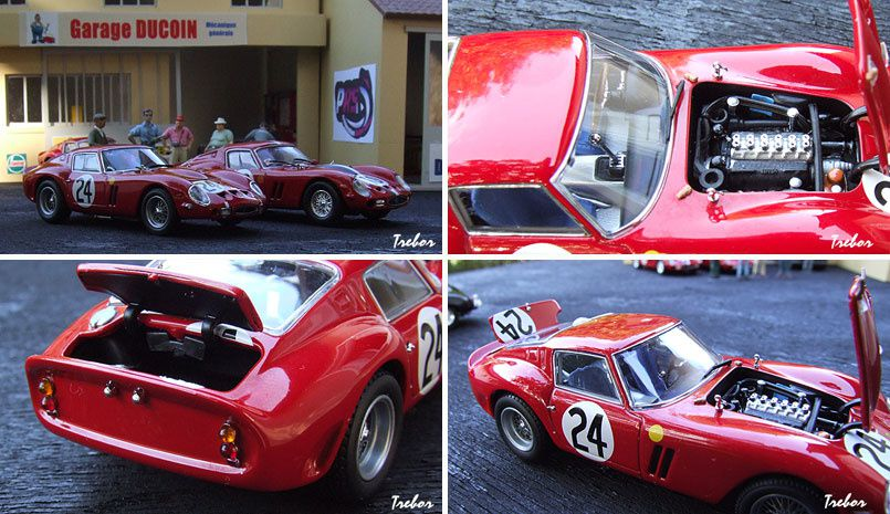 4350GS 250GTO LM1963 rouge