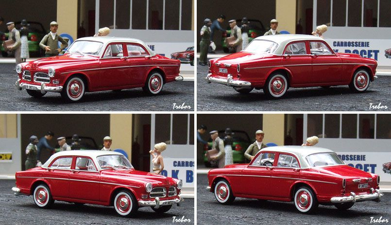 GR4263 Volvo Amazon rouge