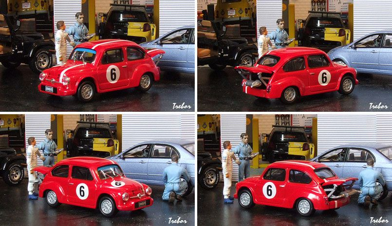 4370GR F-Abarth 600 rouge