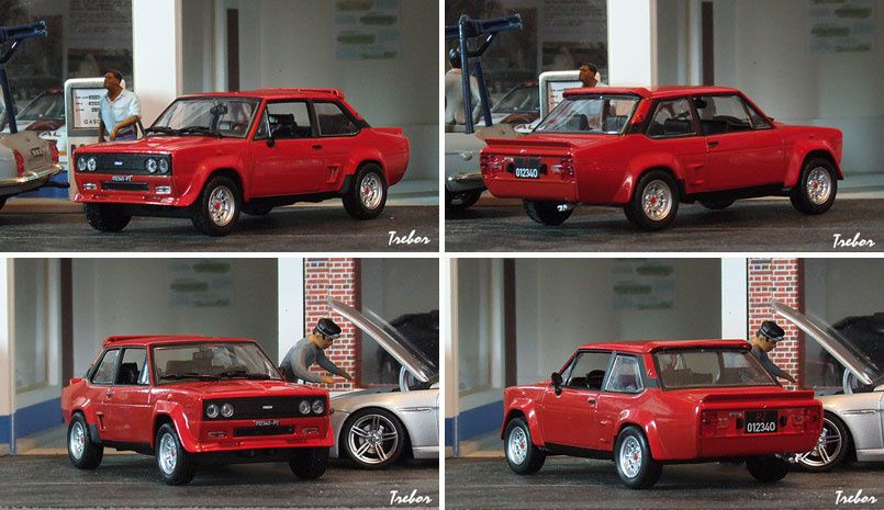 4376GR F-Abarth 131 rouge