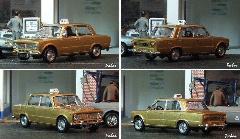 4399GR Lada 1200 taxi or