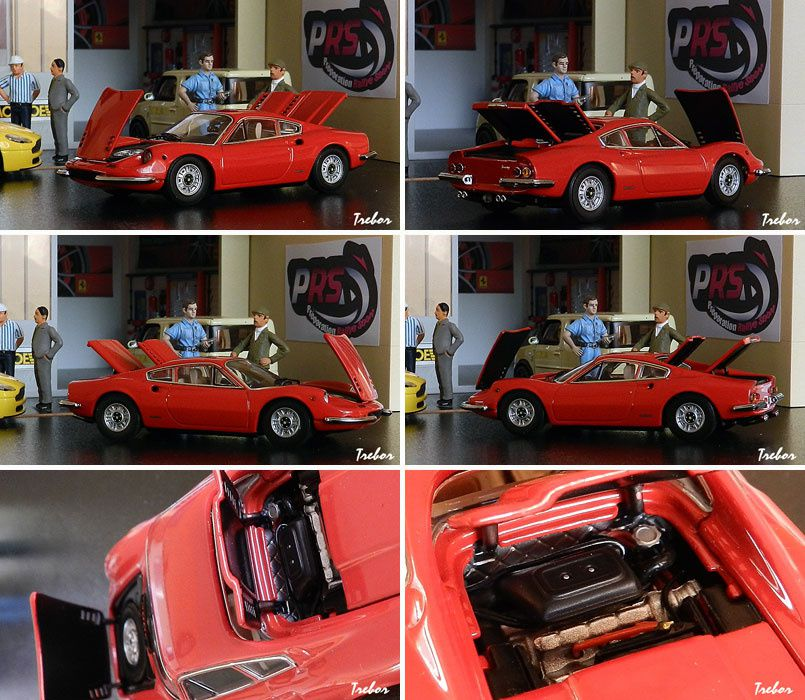 4435GS Dino 246GT rouge