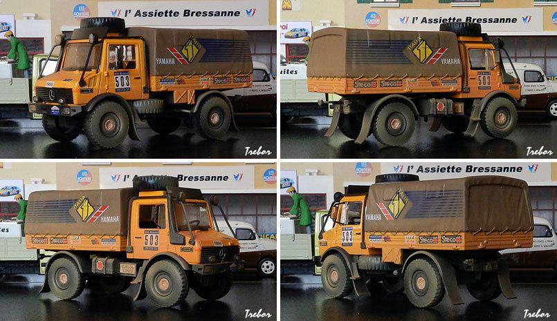 4444GR Unimog Dakar