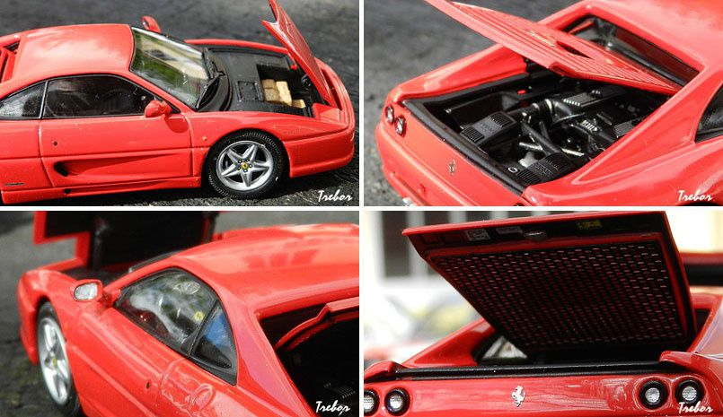 4497GT F355 rouge