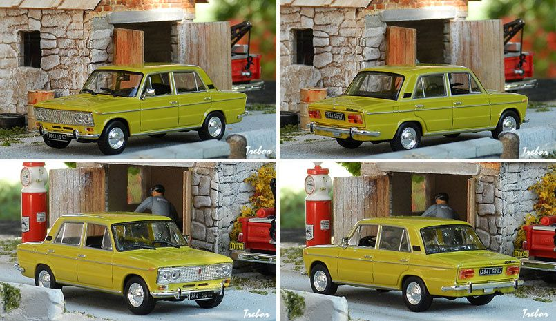 4576GR Lada 1500 moutarde