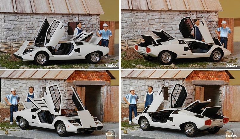 4580GS Countach blanche