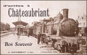 CARTE POSTALE CHATEAUBRIANT