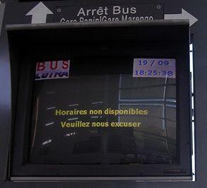 C'est quand le prochain bus de la COTRA ?