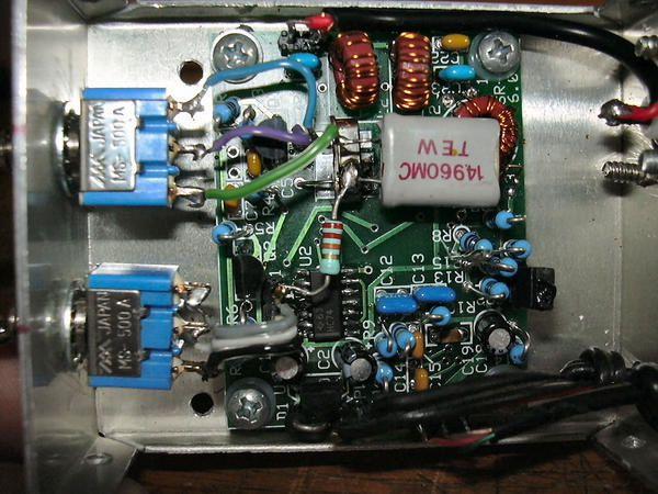 Softrock 40 V6 mods F6CNK