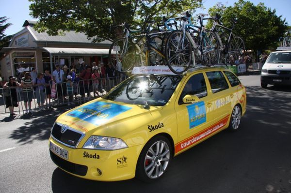 Skoda Equipe Astana Tour Down Under