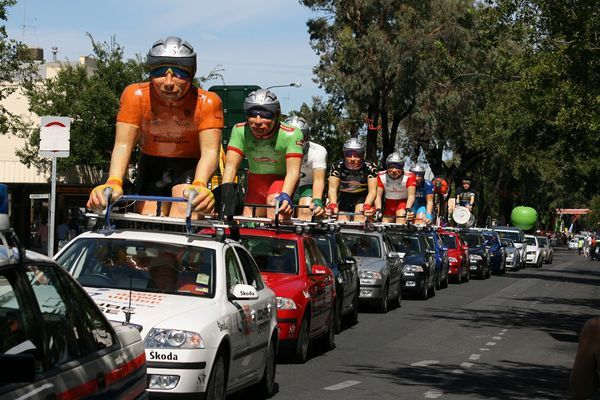 Tour Down Under parade car sponsor