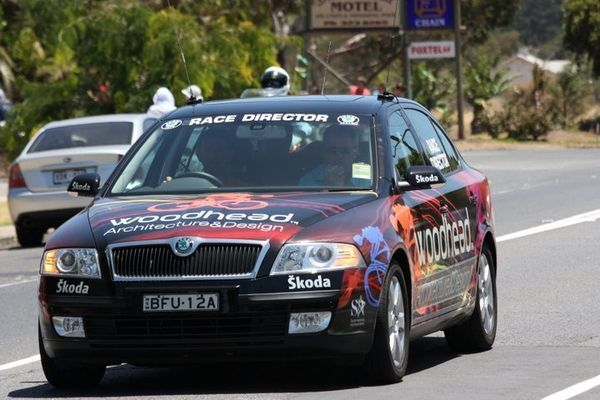 Skoda Octavia Race Director Tour Down Under