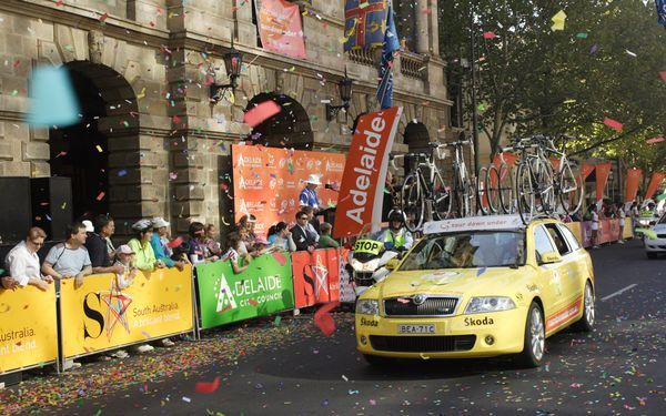 Skoda Equipe Columbia Highroad Tour Down Under