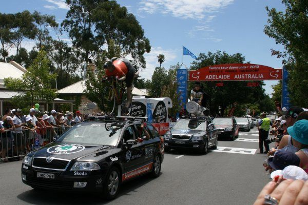 Tour Down Under 2010 parade car