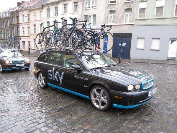 Jaguar Team Sky cycling professional